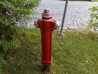foto: Michal Hylas, hydrant je ve Zlíně na nám. TGM