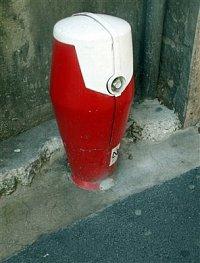 foto: Zdeněk Ráž, hydrant ve státu Andora