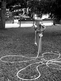foto: Zdeněk Ráž, hydrant v Alpách (Rakousko)