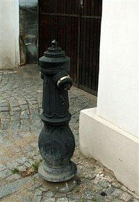 foto: Zdeněk Ráž, hydrant v Litoměřicích