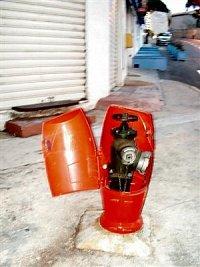 foto: Michal, hydrant na Krétě