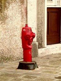 hydrant Itálie, zaslal Michal