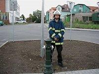 nový hydrant v Praze-Kbely, foto Džarda