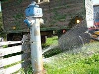 hydrant ul. Školní, Bystré, foto Pavel Marek