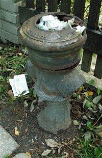 starý hydrant v Liberci, foto kpt. Ing. Zdeněk Ráž, MV-GŘ HZS ČR