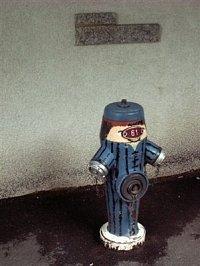 hydrant ve vesničce Riederalp ve švýcarských Alpách, foto kpt. Ing. Zdeněk Ráž, MV-GŘ HZS ČR