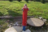 hydrant ve městě Humpolec
