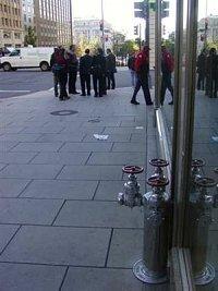 hydrant veWashingtonu D.C. (USA), nachází se zhruba 150 metrů od Bílého domu, foto Vlastimil Staňa -