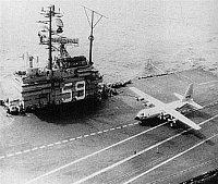 Hercules na CVA-59 USS Forrestal