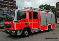 City LHF MAN Rosenbauer 2007 - odlišné vozidlo pro hasičskou školu