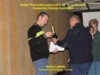 vítěz Michal Libíček z TU Zvolen
