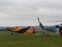 Letadlo Z-37T Turbo Čmelák sloužící v rámci LHS. Foto Lukáš Fejvar.