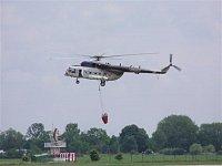 Vrtulník Mi-171, B-1730 slovenské policie. Foto Pavel Nehybka.