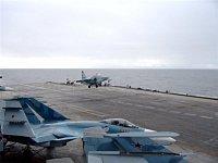 přistání Su-25 UTG