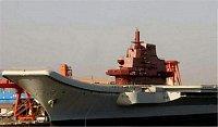 bývalá sesterská loď Varjag v čínském přístavu, léto 2007