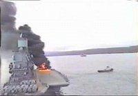 nehoda vrtulníku na lodi Kyjev