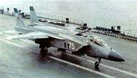 """Jak-141 při ,,klasickém"""" vzletu"""