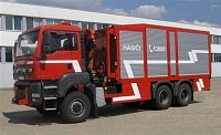 dekontaminační kontejner pro HZSP Škoda Mladá Boleslav