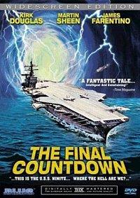titulek DVD filmu Tajemná záře nad Pacifikem (CVN - 68 USS Nimitz)