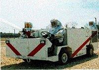 prototyp nového palubního požárního automobilu A/S32-P25