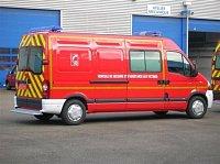 Renault/Picot v sanitní úpravě francouzských hasičů