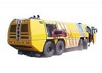 E-one Titan 8x8 s nástavbou Plastisol