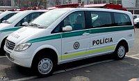 M-B Viano opravní policie s výklopným proměnným displejem