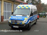 "Prototyp M-B Sprinter německé policie ""Obelix"""