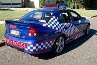 Dálniční policie v Austrálii