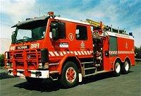 Scania P113M Pumper-Tanker Metropolitan Fire Brigade of Melbourne