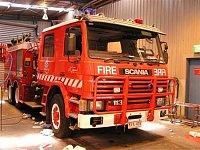 Scania P113M Pumper-Tanker Metropolitan Fire Brigade of Melbourne po renovaci laku