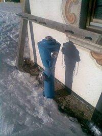 foto: Jiří Proche - SDH Albrechtice nad Orlicí - hydrant z lyžařského střediska Wildschonauer - Aufb
