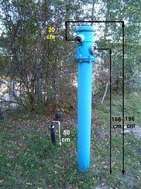 foto: Milan Götz - Hydrant z Liberce, je od firmy HAWLE a překvapil mě svou výškou ( je o 6 cm vyšší
