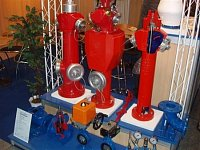 foto: Jakub Morávek SDH Chrudim - hydranty na Pyrosu 2006