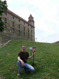 Radek Kislinger - hydrant v Bratislavě