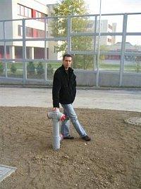 Radek Kislinger - hydrant v Praze - Nové Butovice