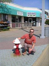 Radek Kislinger - hydrant v USA/Florida