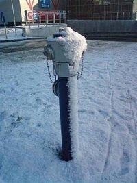foto: Ondřej Pracný - hydrant Ostrava - Poruba Interspar