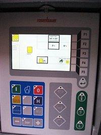 obrazovka se systémem RLCS
