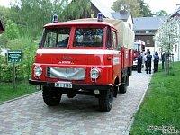 Jedno z původních vozidel jednotky Grossschönau