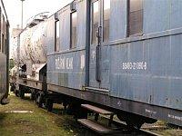 dopravní vagón a cisterna