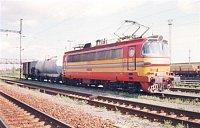 Požiarny vlak v stanici Bratislava - východné 23.8.1998
