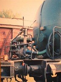 Cisterna Vrútockého požiarneho vlaku Rah 0056 0690901-7
