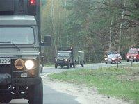 Přesun jednotek za doprovodu polských hasičů - II