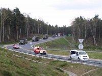 Přesun jadnotek za doprovodu polských hasičů - III