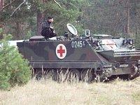 Vojenská sanitka