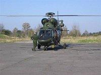 Z vojenského letiště se stala vrtulníková základna - I