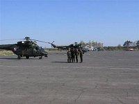 Z vojenského letiště se stala vrtulníková základna - II