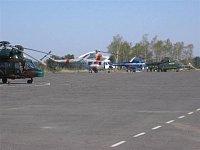 Z vojenského letiště se stala vrtulníková základna - III