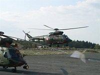 Z vojenského letiště se stala vrtulníková základna - V